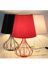 Wire Base Lamp