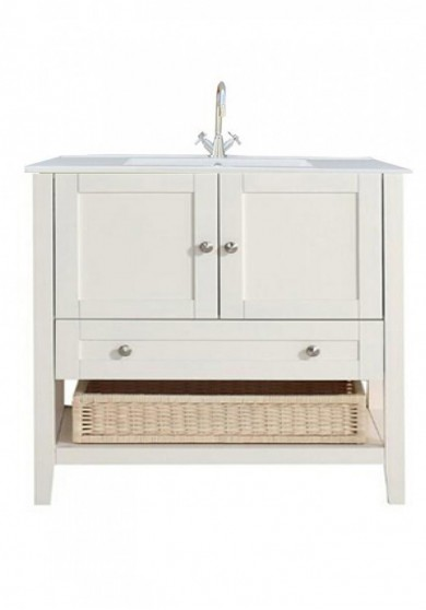 Caipe Single Vanity Ceramic Top  90cm