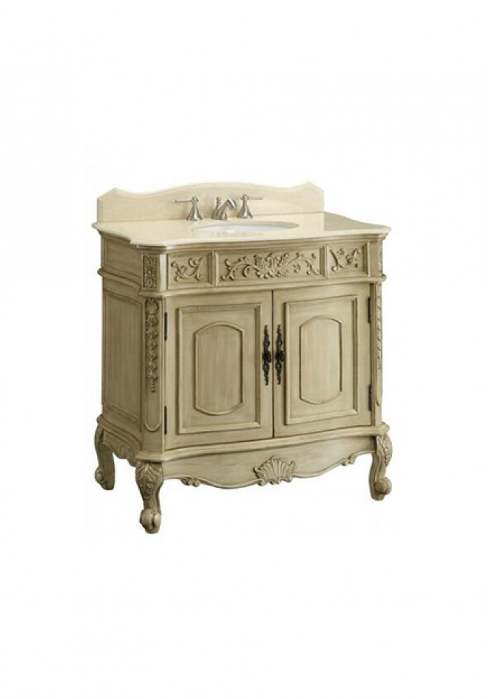 Celsea Antique Style Single Vanity 92cmW Large