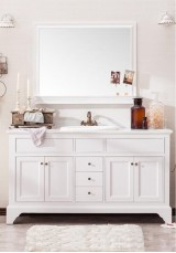 Crew Single Vanity 150CM Marble Top