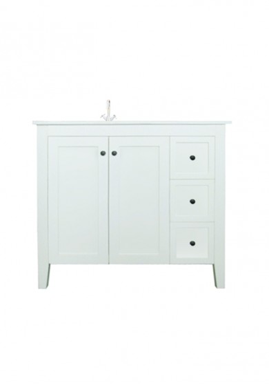 Dawson Vanity With Integrated Basin 100W