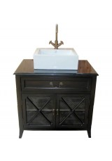 Dereck Single Vessel Sink Vanity  84W