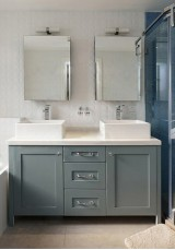 Hilda Double Vanity 145CM Marble Top