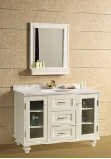 Vera Single Vanity 125CM Marble Top