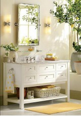 Wilma Single Vanity 130CM Marble Top