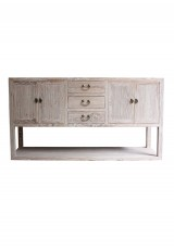 Kaili Chinese Elm Weathered  Sideboard / Buffet  170cm