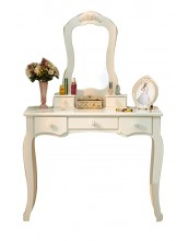Aya Dressing Table with Mirror W90