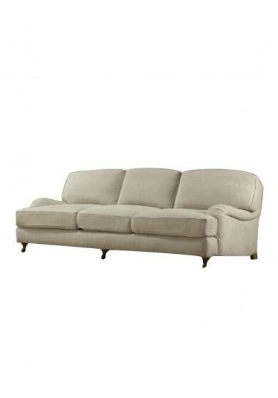 Casa English Roll Arm Sofa 3 Seater
