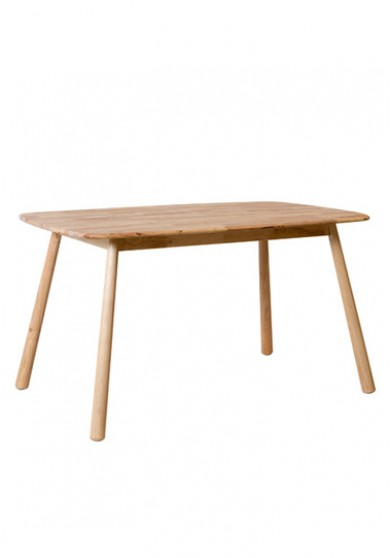 Hester Wooden Dining Table 135cm
