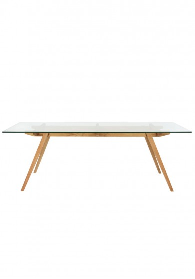 Replica Sticotti Glass Dining Table 225cm