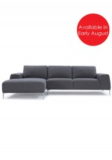 Arthur Sofa With Corner Chaise Fabric Version