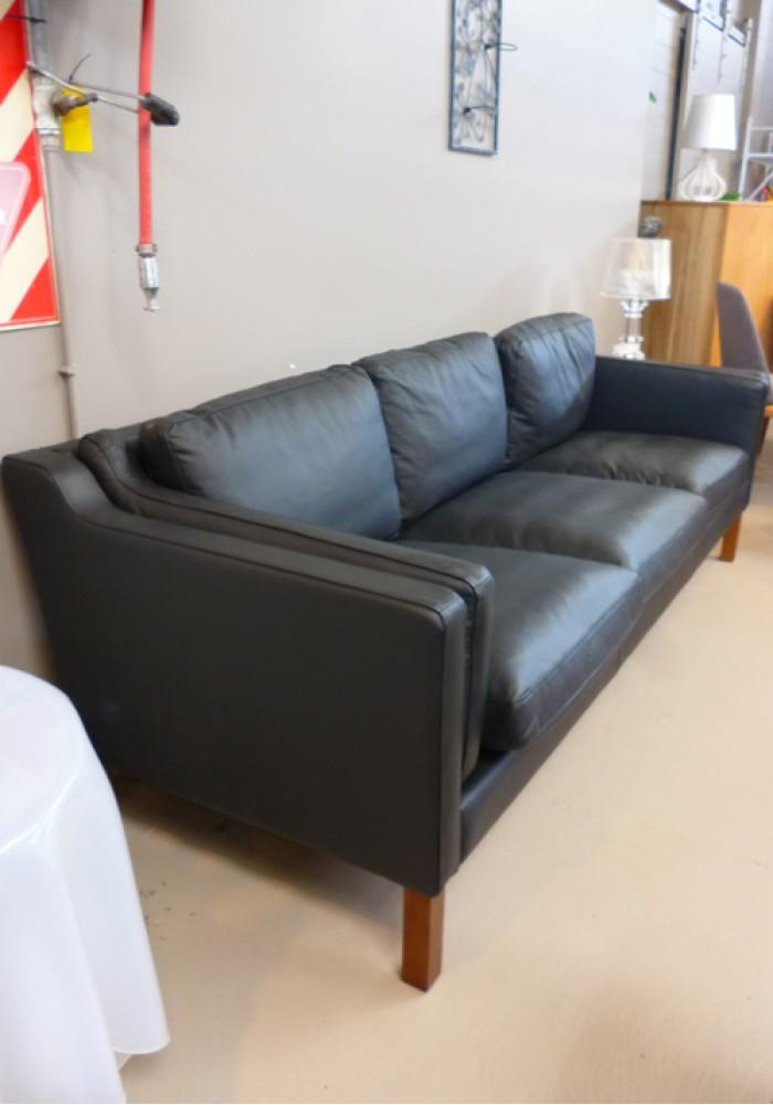 Replica Borge Mogensen Sofa Three Seater Full Leather