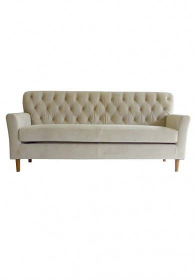 Bared Upholstery Sofa 3 seater