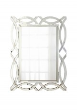 Bria Wall Mounted Venetian Mirror  50 X 70cm