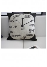 Scientific Clock Cushion