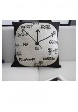 Scientific Clock Cushion