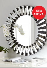 Hester Round Wall Mounted Mirror 90*90cm