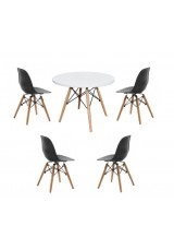 Kids Replica Eames DSW + Eiffel Table & Chair Set