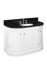 Hamilton Corner Single Vanity Marble top 121cm
