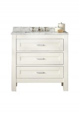 Achilles Single Vanity 80W Marble Top