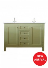 Alex Double Vanity W120cm - Ceramic Top