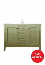 Alex Single Vanity W120cm - Ceramic Top