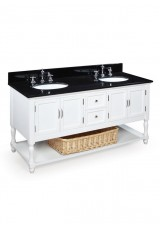 Alicia Double Sink Vanity W153cm Marble top