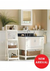 Alicia Single Vanity W80cm - Stone Top