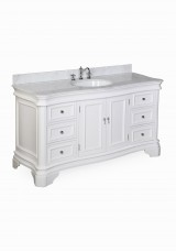 Faron Single Vanity W152cm - Stone Top