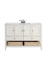 Caipe Single Vanity W120cm - Ceramic Top