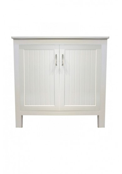 Churchhill Single Vanity W90cm - Ceramic Top