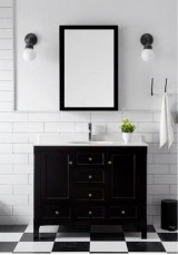 Darrah Single Vanity Marble Top 120cm with Mirror
