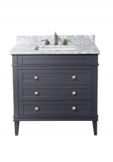 Eleanor Single Vanity Marble Top 87W