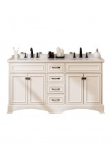 Giada Double Sink Vanity 154cm Marble Top