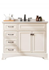 Giada Single Vanity 108cm Marble Top