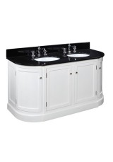 Kendall Double Sink Vanity 152cm Marble top