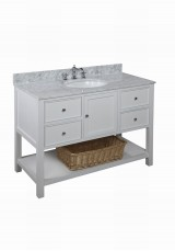 Raiza Single Vanity W121cm - Stone Top * Floor Model *