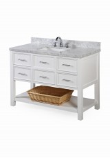 Taliah Single Vanity W121cm - Stone Top