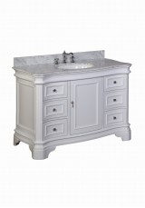 Faron Single Vanity W121cm - Stone Top