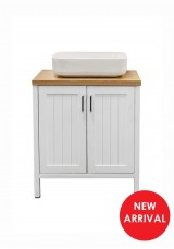 Churchhill Single Vanity W90cm - Vessel Sink