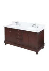 Cathy Double Vanity 152cm Marble Top