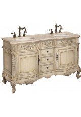 Celsea Antique Double Vanity 152cm Marble Top