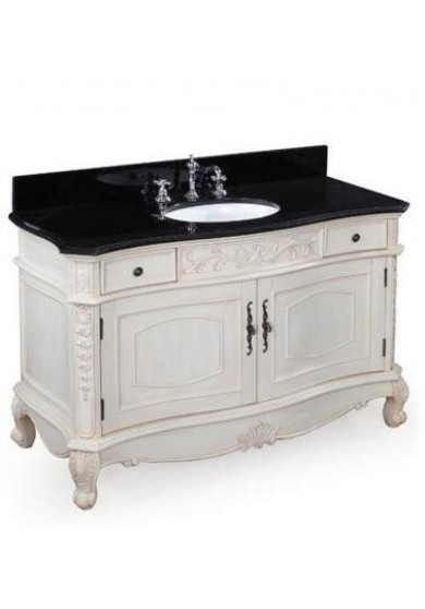 Lorraine Single Vanity Marble top 120W