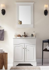 Blair Single Vanity 78cm Marble Top