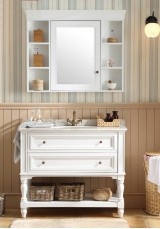Fiachra Single Vanity 95cm Marble Top