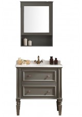 Finnian Single Vanity 80cm Marble Top