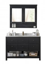 Ganit Single Vanity Marble Top W120cm