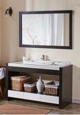 Gayle Single Vanity W150cm - Stone Top