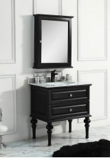 Sally Single Vanity 75CM Marble Top