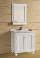 Vera Single Vanity 80CM Marble Top